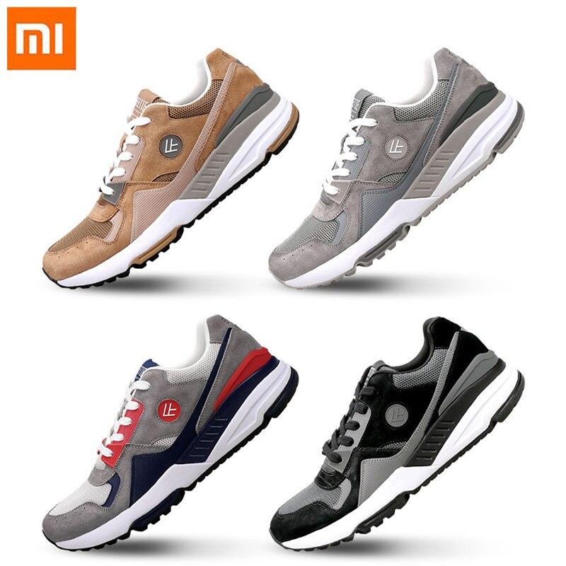 Original xiaomi mijia freetie retro sapatos esportivos confortáveis wearable respirável corrida sapatos de alta elasticidade superfície líquida para homem