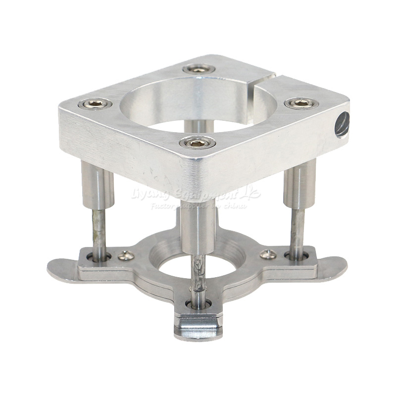 CNC engraving machine 65mm spindle motor automatic press plate floating pressure feeder DIY parts clamp device 3d printer parts 65mm spindle diameter auto pressure foot fixture holder for cnc router diy accessories cnc plate clamp