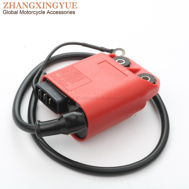 CDI/הצתה סליל עבור וספה ET2 LX LXV Primavera S ספרינט 50cc AC 2 פעימות