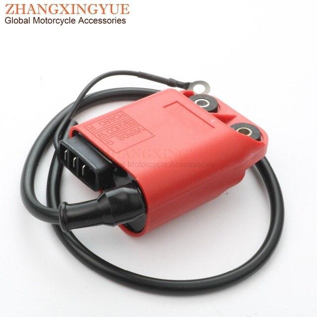 CDI/cewka zapłonowa dla Vespa ET2 LX LXV Primavera S Sprint 50cc AC 2 skok