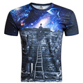 Men's Shirt Cartoon Star 3D Printed T Shirt Vintage Men's Shirt Brand Top Summer Tees Casual Painting Short Sleeve Blouses M-4XL