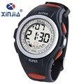 XINJIA 2016 Mulheres Homem Relógio Led Relógio Digital Data Chronograph Sports Relógios Moda Casual Estudante de Pulso montre 810L