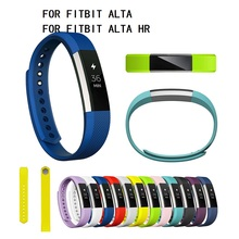 Silicone Watchband For Fitbit Alta For Fitbit Alta HR High Quality Replacement Smart Bracelet Wrist Band Strap Band Wristband lnop sport watch strap for fitbit alta alta hr band replacment bracelet silicone breathable wristband smart tracker accessories