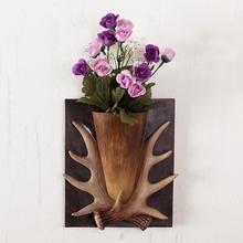 Винтаж staghorns мюоны украшения американские рога настенные украшения дома