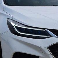 Автомобиль лампа для Chevrolet Cruze фара 2017 2018 светодиодный фар Q5 Bi Xenon объектив проектора светодиодный DRL