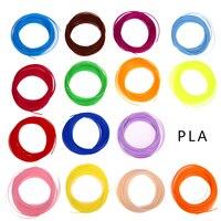 20 kleur/set 3D Printer Pen Filament ABS/PLA 1.75mm Plastic Rubber Verbruiksartikelen Materiaal 3d pen filament Groothandelsprijs