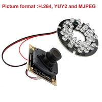 720P HD OV9712 CMOS Free Driver H 264 Infrared IR Usb Camera Module Endoscope With MIC