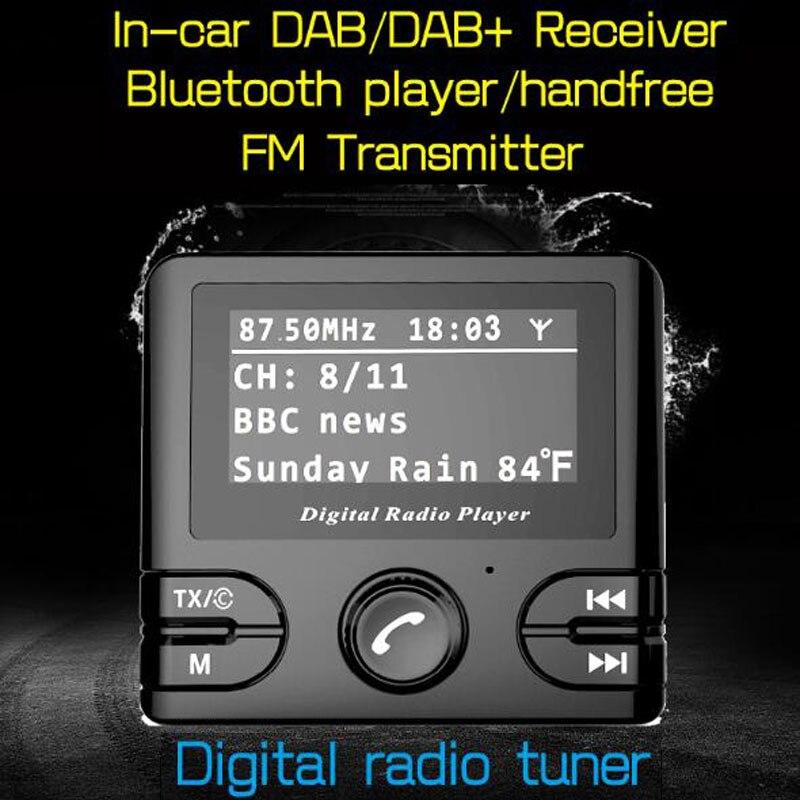Radio Mit Bluetooth Fm Transmitter Funktion Zigarette Leichter Usb Launcher Auto Ladegerät Seien Sie Im Design Neu Tragbares Audio & Video PräZise Dawupine Digitale Dab-radio Empfänger Dab