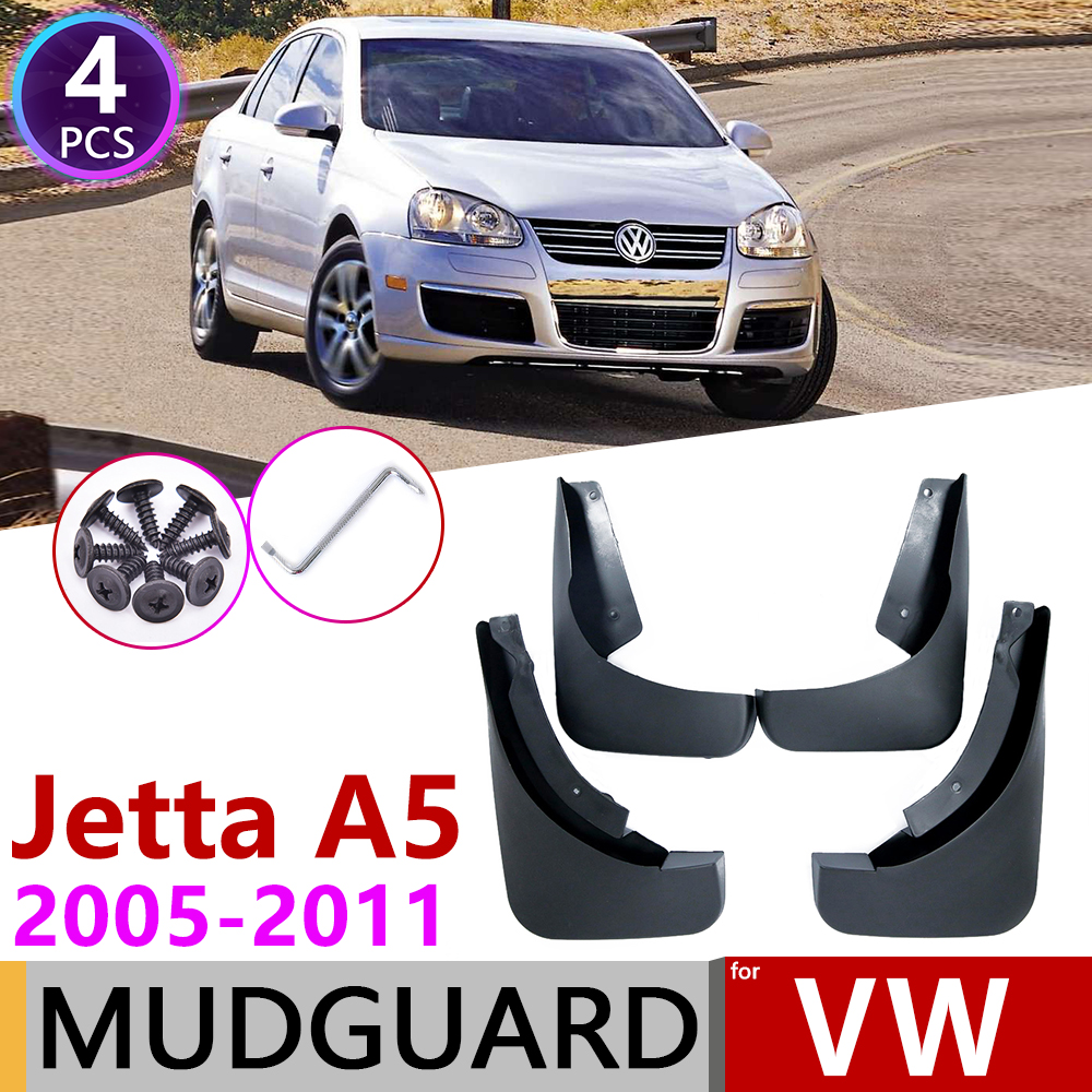 for Volkswagen <font><b>VW</b></font> Jetta A5 MK5 2005~2011 1K Mudguard Car Fender Splash Flaps Mud Guard <font><b>Mudflap</b></font> Accessories 2006 2007 2008 2009 image