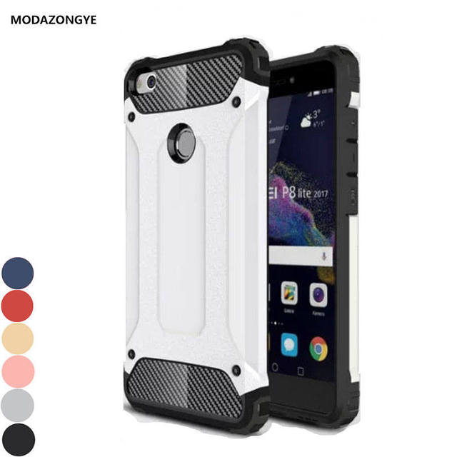 new arrival 48b04 4cbab US $3.19 20% OFF|Huawei GR3 2017 Case 5.2 inch Luxury Hybrid Tpu Silicone +  Hard Cell Phone Case For Huawei GR3 Gr 3 2017 Case Back Cover Skin-in ...