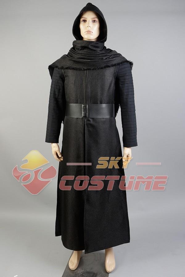 Nieuwe Star Wars 7: The Force Awakens Kylo Ren Uniform Manteljas - Carnavalskostuums - Foto 2