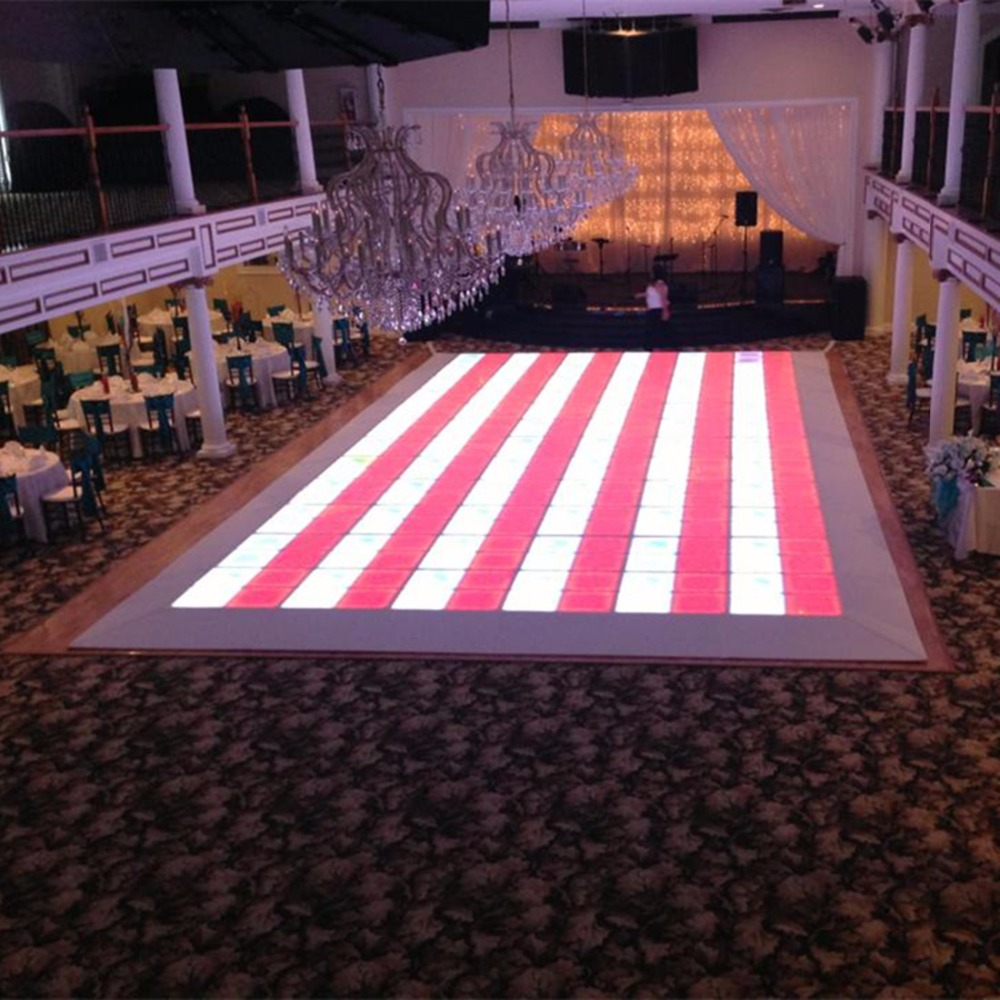 Wedding Party LED Dance Floors Professional Portable Disco Led Dance - Led dance floor for sale usa