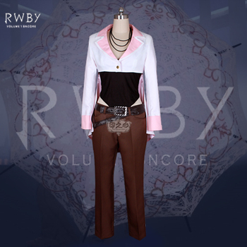 RWBY Neopolitan Neo Fashion Party Uniform Suit Cosplay Costume Full Set Anime Clothing