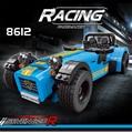 Decool 8612 bloques de construcción modelo compatible 21307 lepin caterham seven 620r 21008 racing car juguetes para niños