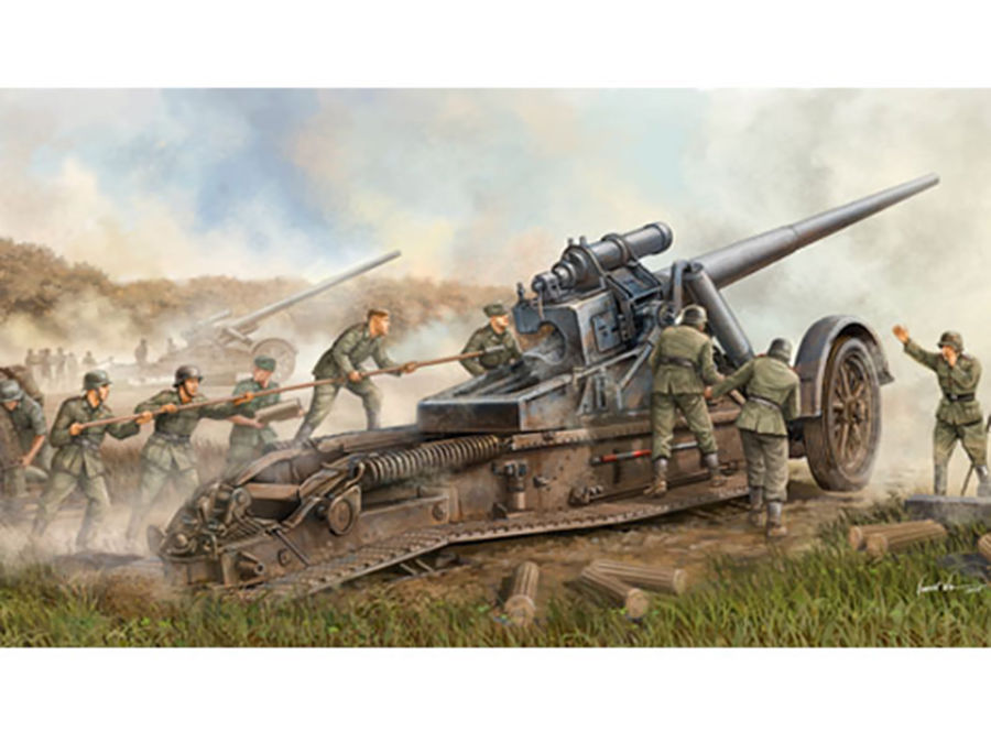 1pcs Action Figures Toy Kids Gift Collection For Trumpeter 1/35 02313 German 17cm Kanone 18 Heavy Gun Model Kit 1pcs action figures toy kids gift collection for trumpeter 01524 1 35 flakvierling 38 sd kfz 7 1 late