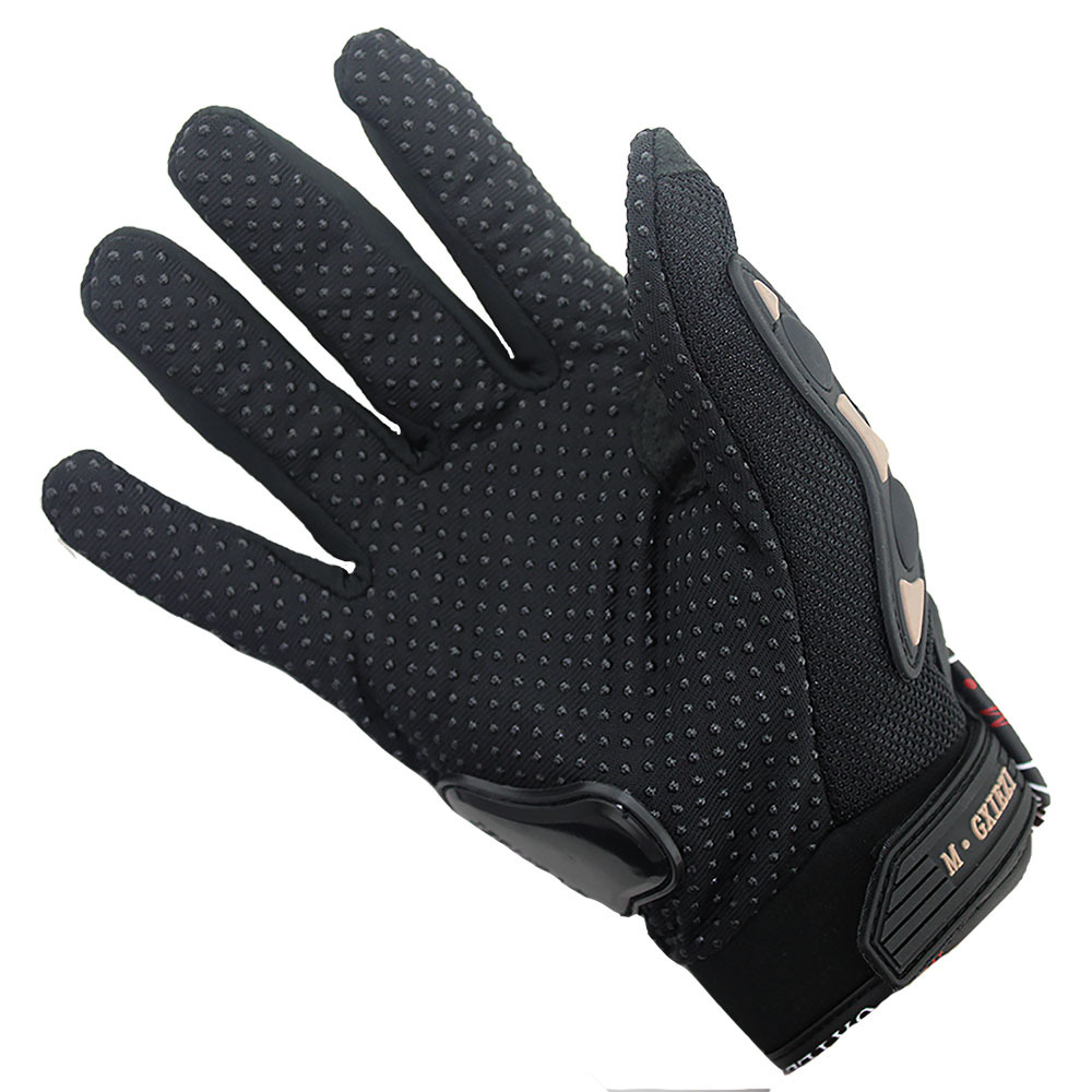 Image 4 - Breathable Gloves Leather Gloves Motorcycle Gloves Driving Road Bike Protective Gloves for Men-in Riding Gloves from Sports & Entertainment