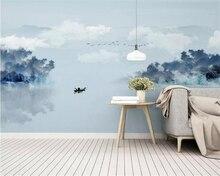 beibehang abstract 3d wallpaper artistic Ink landscape bedroom living room decoration mural 3d wall paper papel de parede mural
