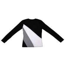 New Women T-Shirt Crew Neck Long Sleeve Bottoming shirt Casual Tops Black S