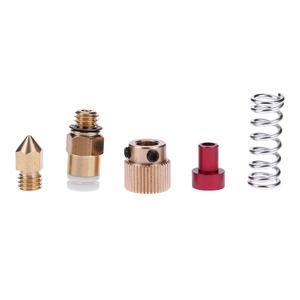 Image 4 - 3D Printer Parts MK8 Extruder Aluminum Alloy Block Extruder Set 1.75mm Filament for Creality 3D CR 7 CR 8 CR 10