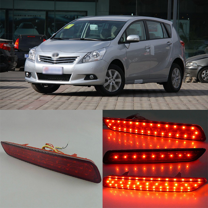 Ownsun Superb LED Reflector Rear Tail Light Bumper with Turn Singnal For Toyota Verso