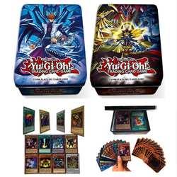 Рождественский подарок игра юджиох коллекционные игральные карты бесплатно Yu-gi-oh коробка Аниме фигурки Япония Yu Gi Oh легендарный для