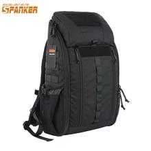 SPANKER Utomhusjaktväskor Klättringsväska Vattentät Ryggsäckar Tactical MOLLE Medical Backpack Military First Aid Bags