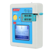 Quality Transistor Tester TFT Diode Triode Capacitance ESR Meter LCR MOSFET IR Universal Tester Multimeter LCR