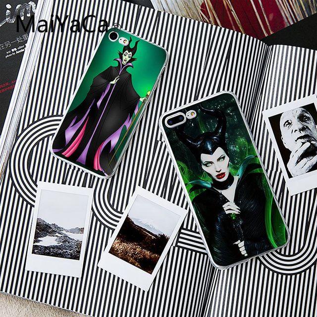 1 08 7 De Descuento Maiyaca La Bruja Maleficent Colorido Impresion Dibujo Tpu Telefono Caso Para Iphone 8 8 Mas Y 7 7 Mas 6 S 6 S Mas 6 6 Mas Xs Xr