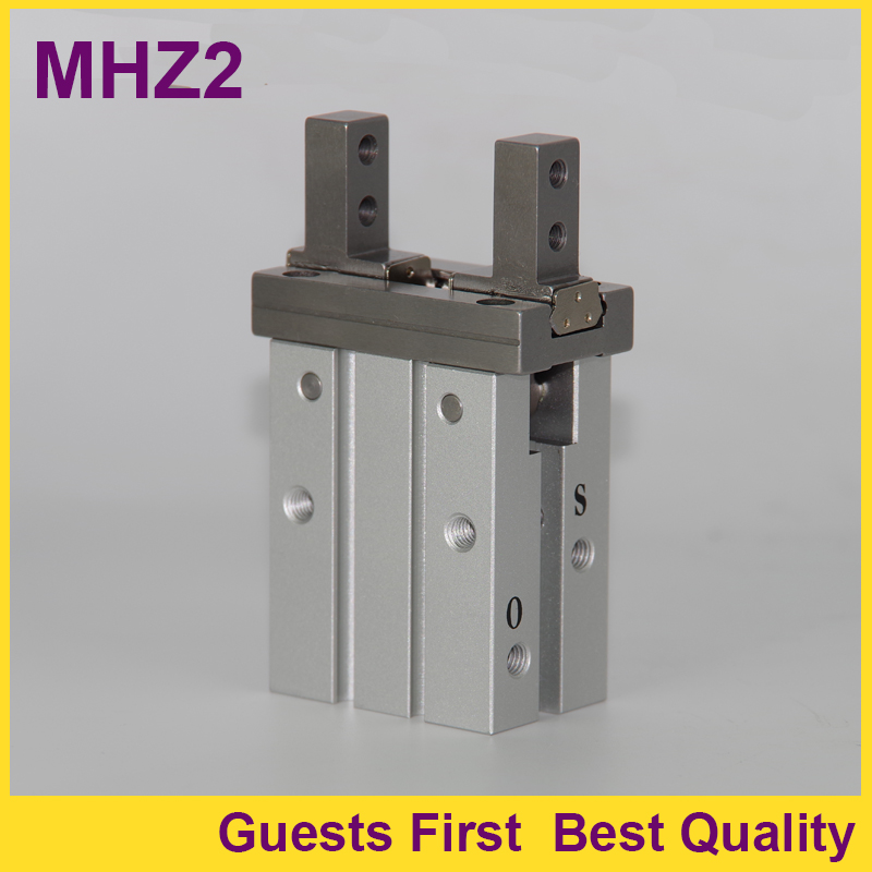 MHZ2-25D MHZ2-25S MHZ2-25C MHZ2-25D1 MHZ2-25D2 MHZ2-25D3 Parallel type Robert Air Gripper Aluminum Clamps Pneumatic Air Cylinder high quality double acting pneumatic gripper mhy2 25d smc type 180 degree angular style air cylinder aluminium clamps