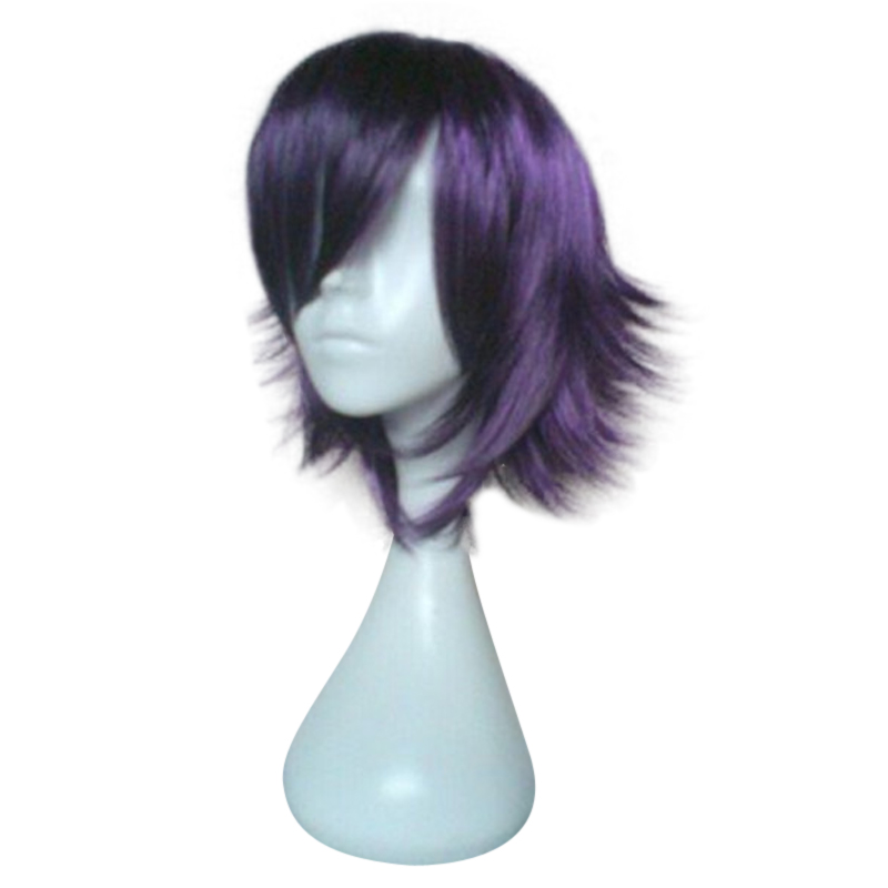 HAIRJOY Synthetic Hair Wigs Short Straight Cosplay Wig  13 Colors Available Freeshipping 36