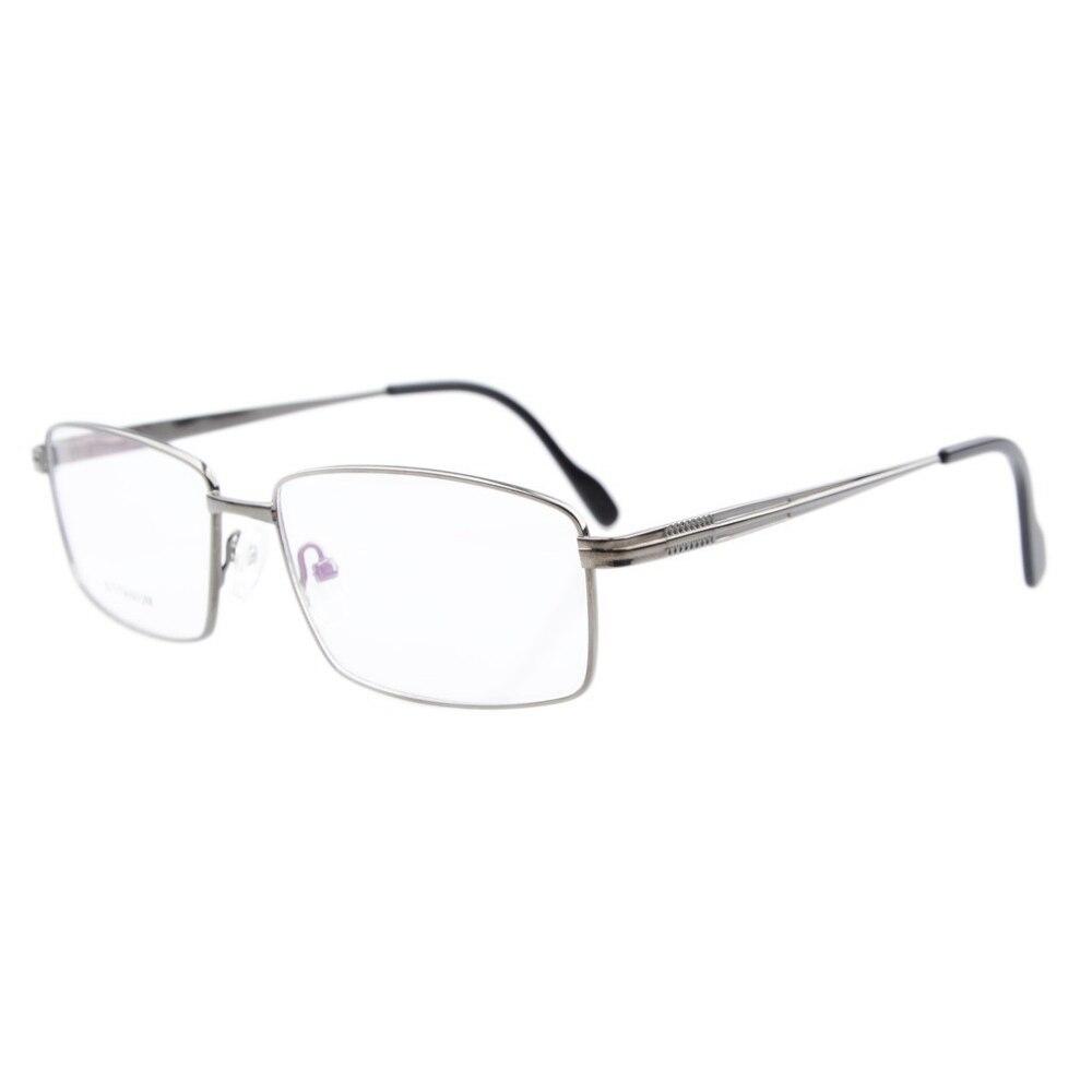 LQB026 lunettes de vue titane cadre optique printemps bras articulés lunettes cadre hommes - 3