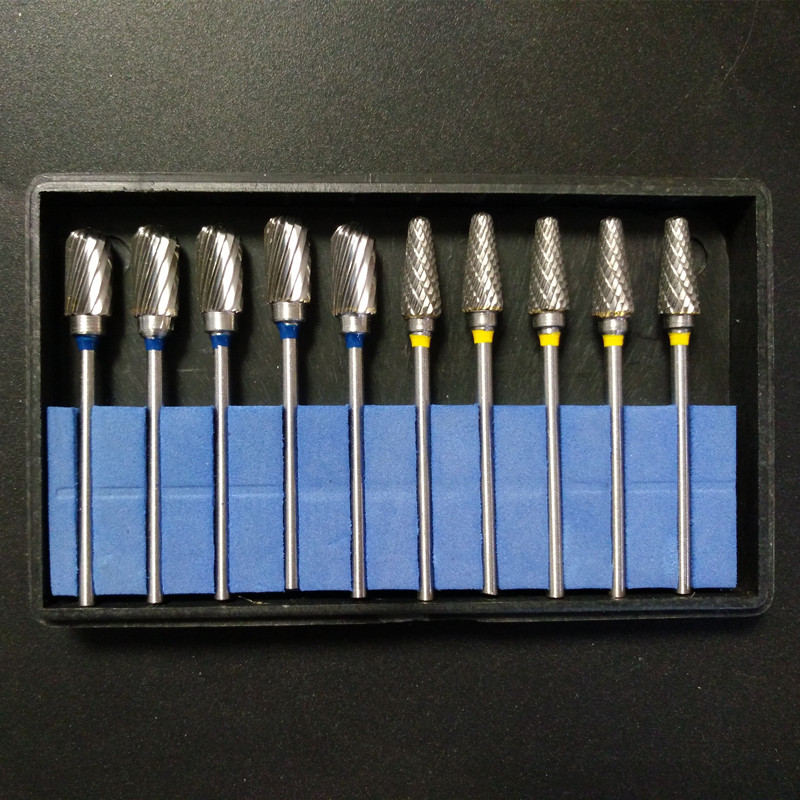 10 Pcs/Set Best Dental Tungsten Steel Nitrate Carbide Burs Drills Dentistry 2.35mm Dental Burs ultrasonography in dentistry
