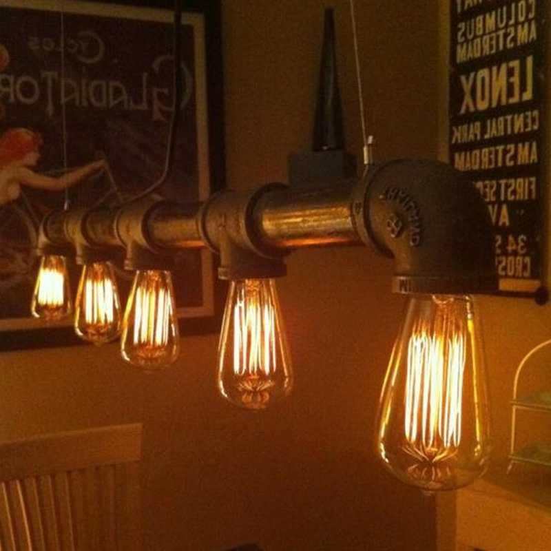 E27 110V 220V Edison ampoule ST64 Vintage ampoule à incandescence 40w 60w Style rétro lampe décor lumière pour salon chambre blanc chaud