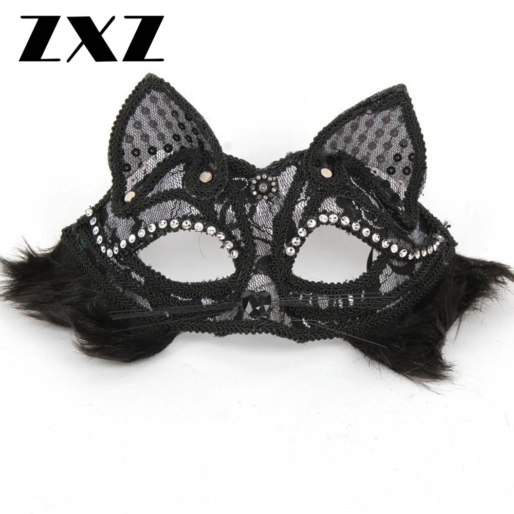 Popular Venetian Cat Mask-Buy Cheap Venetian Cat Mask lots from ...