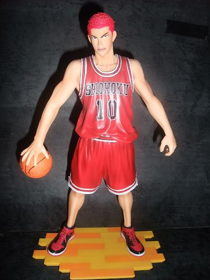 ФОТО Popular 25cm Slam Dunk Sakuragi Hanamichi PVC Action Figure Model Collection Toy