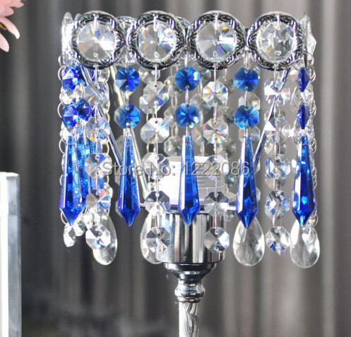Pcs BLUE GREEN GLASS CHANDELIER CRYSTALS PRISMS HANGING SUNCATCHER - Chandelier crystals blue