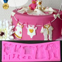 3D Silicone Mould Fondant Kitchen Cake Mold for Chocolate Baking Tool