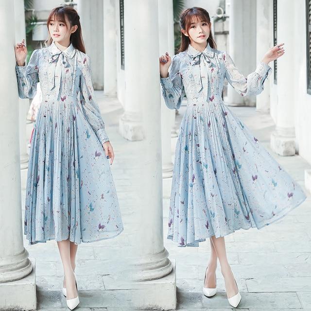 Aliexpress.com : Buy 2017 Spring Women Dresses Vintage Retro ...