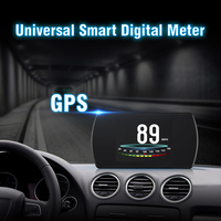 """GEYIREN T800 3.6"""" Screen On board Gps Car HUD GPS Head Up Display MPH Overspeed Warning Windshield Projector auto accessories