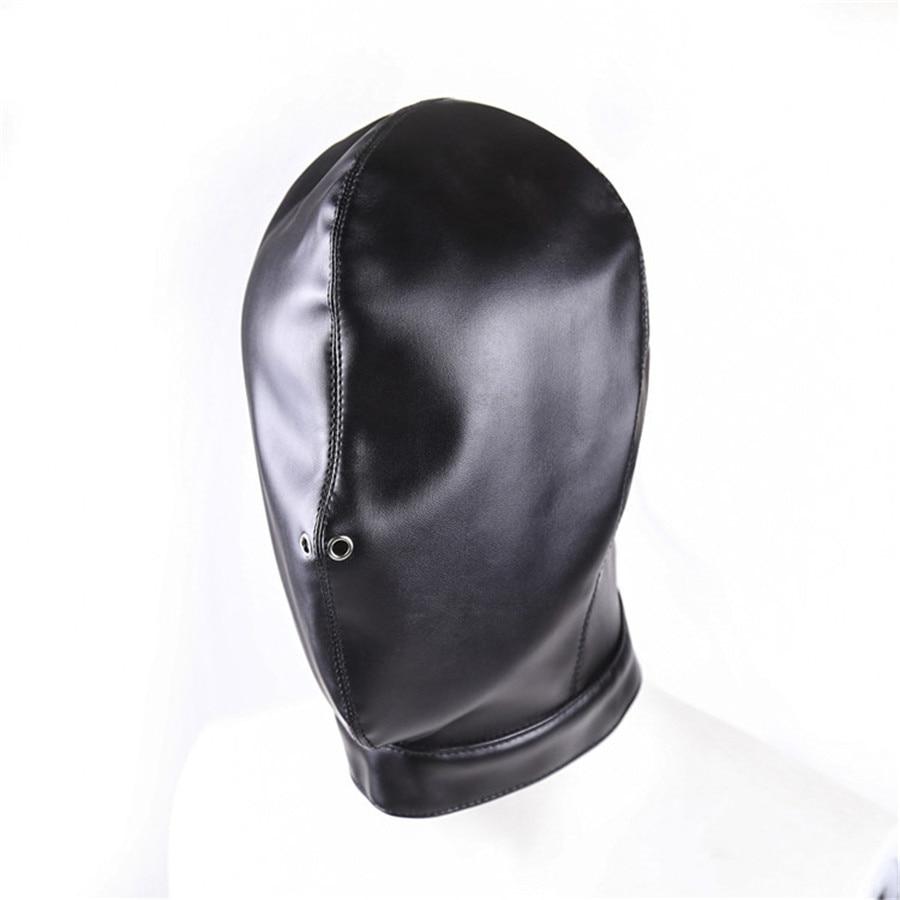 Bondage Hood Leather