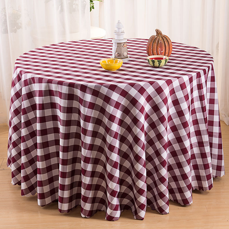 Modern Pastoral Table Cloth Plaid Table Cover Round Square Picnic Tablecloth  Wedding Party Decortion Table Cloths Toalha De Mesa In Tablecloths From  Home ...