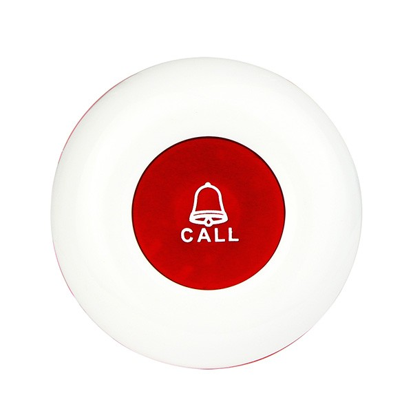 Red Wireless Office Club Waiter Call Transmitter Button (1)
