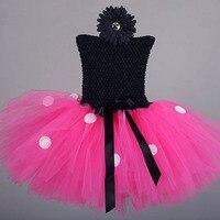 Minnie Mouse Váy Cô Gái Quần Áo Polka Dot Tay Tutu Dress Pageant Sinh Nhật Đảng Carnival Công Chúa Trang Phục Áo Dài