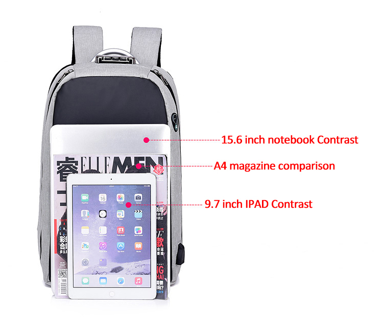 HTB1CuVeXs vK1RkSmRyq6xwupXao - New Teenager Campus backpack Student multifunctional anti-theft