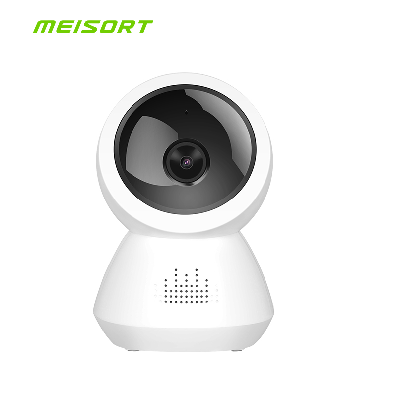Meisort Fisheye VR Panoramic Camera HD 720P Wireless Wifi IP Camera Home Security Surveillance System Camera Wi-fi 180 degree new hd 3mp led bulb light wireless camera fisheye panoramic wifi network ip home security camera system for ios android p2p