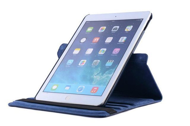 360 Rotation PU Leather case for Apple iPad Air 1 Smart cover ipad 5 flip tablet case