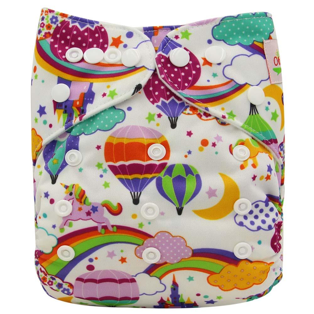 Моющиеся Подгузники диваны Lavables Детские Пеленки Обложка Обёрточная бумага с рисунком Детские Пеленальный Детские Тканевые Многоразовые Подгузники - Цвет: OB106
