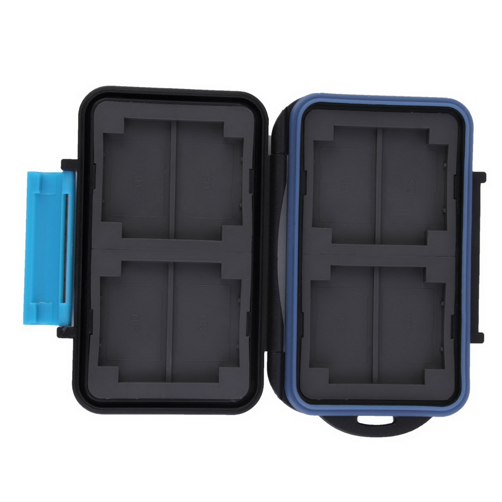 Memory Card Case Holder for 8 x SD SDHC Cards MC-SD8 Waterproof Anti-shock Wholesale