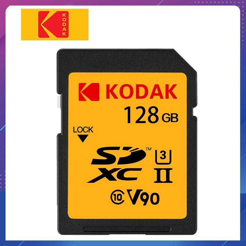 Kodak carte SD 64G carte mémoire haute vitesse UHS-II U3 4 K 8 K Canon Nikon Sony reflex carte sd SDXC appareil photo cartao de memoria D850 D500