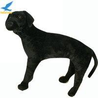 Fancytrader Realista 24 ''Grande de Peluche de Felpa Suave Lindo Labrador Retriever Perro de Juguete de Simulación, gran Regalo para Los Niños FT50608